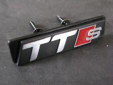 TT S Grill Badge S Line TT Quattro Black Audi Sport