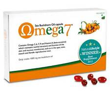 Oméga 7 Argousier Faux-nerprun 60 Gélules Végétalien Sécheresse Oculaire