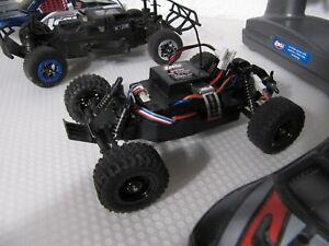 Team Losi Micro 1:32 1:24, zwei Fahrzeuge kompl. mit FB, gebraucht