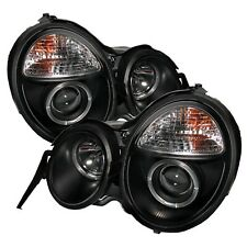 Spyder Auto 5011275 Halo Projector Headlights Fits 95-99 E300 E320 E420 E430