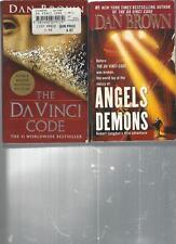 DAN BROWN - THE DAVINCI CODE  - A LOT OF 2 BOOKS