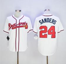 Deion Sanders, american baseball famous player jersey, regular season, quality