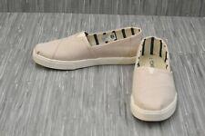 **TOMS Alpargata Cupsole 10013500 Comfort Slip On Shoe, Women's Size 6, Natural