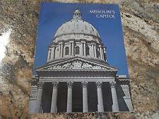 Souvenir Guide to Missouri's Capitol - Governor Warren Hearnes 1965-1973