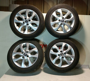 """NISSAN MICRA 2016 GENUINE SET OF 4 ALLOY WHELL 15"""" WITH TYRE 175/60/R15 - 4 STUD"""