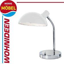 Nino Retro Tischlampe weiß