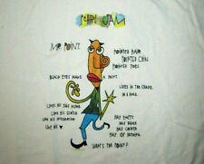 Pearl Jam Original Vintage 1995 Concert Tour XL T Shirt ~ Mr. Point