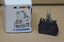 NEUF : 1X Bloc lumineux Telemecanique / Schneider electric ZBV-BG6 LED BLEU 24V