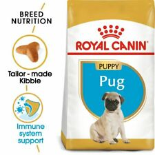 Pug Puppy Dry Dog Food Royal Canin Complete Kibble 3 x 1.5kg bag High Quality