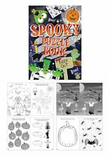 1 - 50 Childrens Spooky Puzzle Books Party Bag Fillers Toys Lucky Dip Prizes