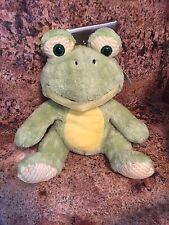 "11"" FROG STUFFED ANIMAL (rana peluchi) by Animales Surtidos"