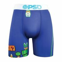 PSD Underwear Game Flag Mens Boxer Briefs Mario Bros Nintendo High Quality