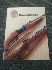 1977 Savage Arms Catalog