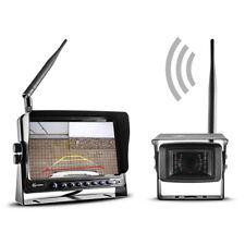 Profi Funk Rückfahrsystem Carmedien CM-FRFS2 Rückfahrkamera digital 12V 24V TFT