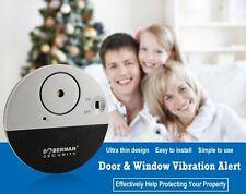 Doberman security Door Window Vibration Alarm *100DB Sound* *BUY 2 GET 2 FREE*