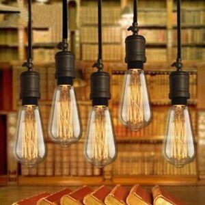 A+ ST64 Filament 1 pc Light E27 Vintage Decorative Industrial Edison Dimmable