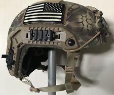 Ballistic IIIA SOHAH Gunfighter helmet Gentex CVC Ops Core Large Maritime Crye