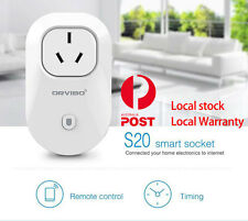 ORVIBO Smart WIFI S2O Remote Controlled AU Standard House Socket for Android iOS