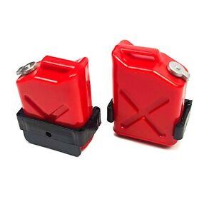 2pcs 1/10 RC Crawler Accessories Decorative Jerry Fuel can CC01 02 TRX SCA Axial