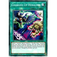 YUGIOH CHARGED-UP HERALDRY - COMMON 1st EDITION IGAS-EN060