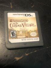 Professor Layton And The Curious Village - Nintendo DS Game Only TESTED