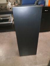 "Black 1 Custom Decor Cabinet  - Office- Home  16'x16"" x 42 1/2 """