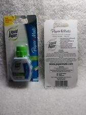 Paper Mate Liquid Paper .74 fl oz New in package Fast Dry Smooth coverage