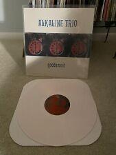 Alkaline Trio Goddamnit White Vinyl Asian Man Records