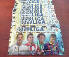 250 sobres nuevos sin abrir colección Quiz Liga 2014. Edit.Mundicromo.