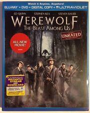 WEREWOLF: The Beast Among Us NEW DVD+ DIGITAL+ ULTRAVIOLET+ BLU-RAY SET!!