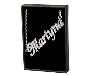 Name Necklace Martyna – 18K Gold Plated | Wedding Unique Girlfriend Designer