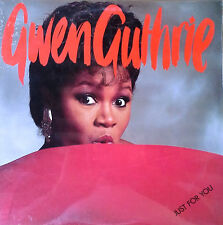 GWEN GUTHRIE - JUST FOR YOU - ISLAND LBL - 1985 LP  - STILL SEALED