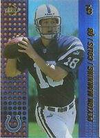 (100) 2000 Collector's Edge Peyton Manning T3 Preview Mint