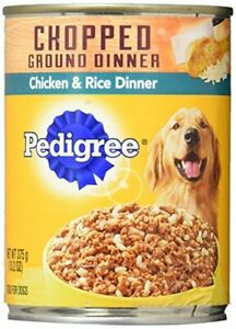 Pedigre Chicken And Rice Pet Food, 13.2 Oz