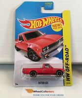 Datsun 620 #139 * RED * 2014 Hot Wheels * B4
