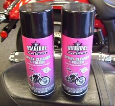 2 pack Original Bike Spirits Spray Cleaner and Polish 14oz 58-7700