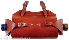 Toowoomba Saddlery Australian Made Leather Water Bottle Carrier Double