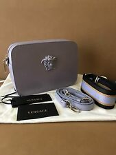 Versace 950$ Medusa Logo Leather Cross Body Bag.!! NEW..Authentic.!!