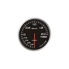 DEFI 60MM ADVANCE BF TURBO 200 BOOST GAUGE WHITE