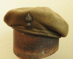 WW2 Military Uniform Royal Engineers Officers Beret Hat Badge W.H.Earle (5380)