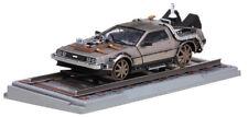 DeLorean Back to the Future Teil 3 Railroad Version 1:18 Sun Star 2714