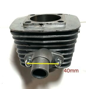 BGF 80cc steel IRON sleeve 47mm bore cylinder for 2-stroke GAS motor bike engine
