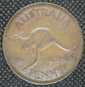 Lot 7)   AUSTRALIAN 1946 PENNY