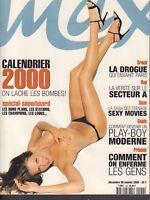 Max Decembre 1999 Janvier 2000 #120 French Magazine 2000 Calendar 021418DBE