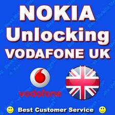 VODAFONE UK NOKIA LUMIA 730 735 800 720 710 810 820 822 830 ETC UNLOCK CODE