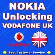 VODAFONE UK Nokia Lumia 730 735 800 720 710 810 820 822 830 Codice Di Sblocco etc