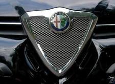 Alfa Romeo 156 SW Saloon Estate - CHROME Kit Front Grille Cover Mesh Trim Tuning