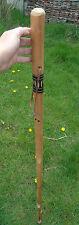 "Walking Stick Wood Shepherd Cane Thick Farmer Walking Hiking Stick 49"" Tall"