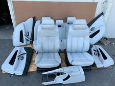 BMW E60 (06-10) M5 SET SEATS INTERIOR DOOR PANEL CONSOLE AC ACTIVE MASSAGE OEM