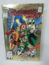 Marvel Ravage 2099 #1 Gold Signed by Stan Lee